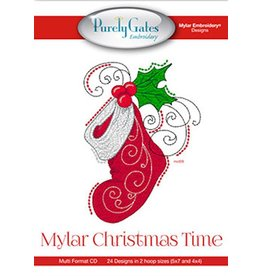 Mylar Christmas Time Design Pack