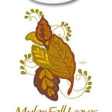 Mylar Fall Leaves Design Pack