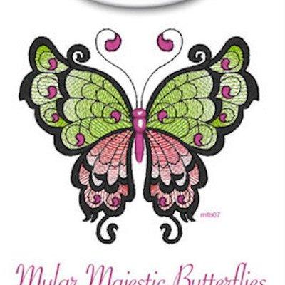 Mylar Majestic Butterflies Design Pack