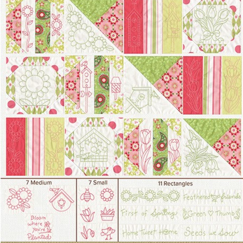 Quilt For All Seasons- Spring Design Pack