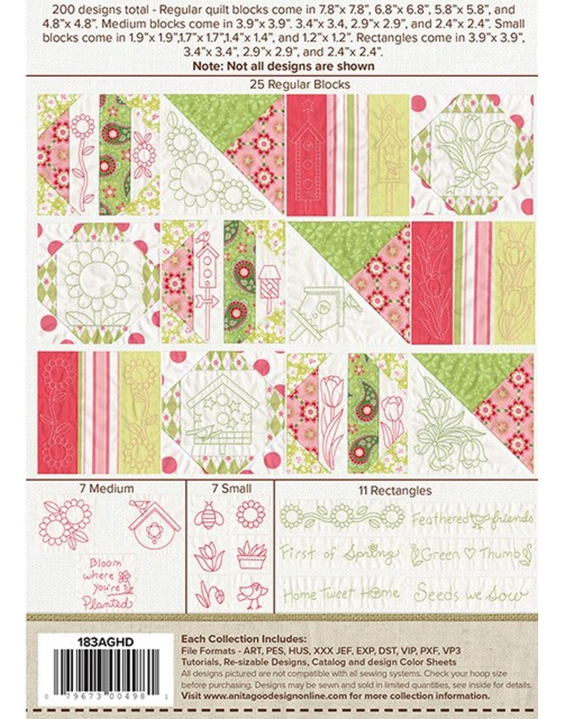 Quilt For All Seasons- Spring Design Pack