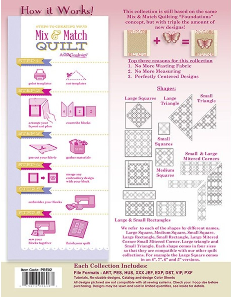 Quilting Essentials Premium Collection Design Pack