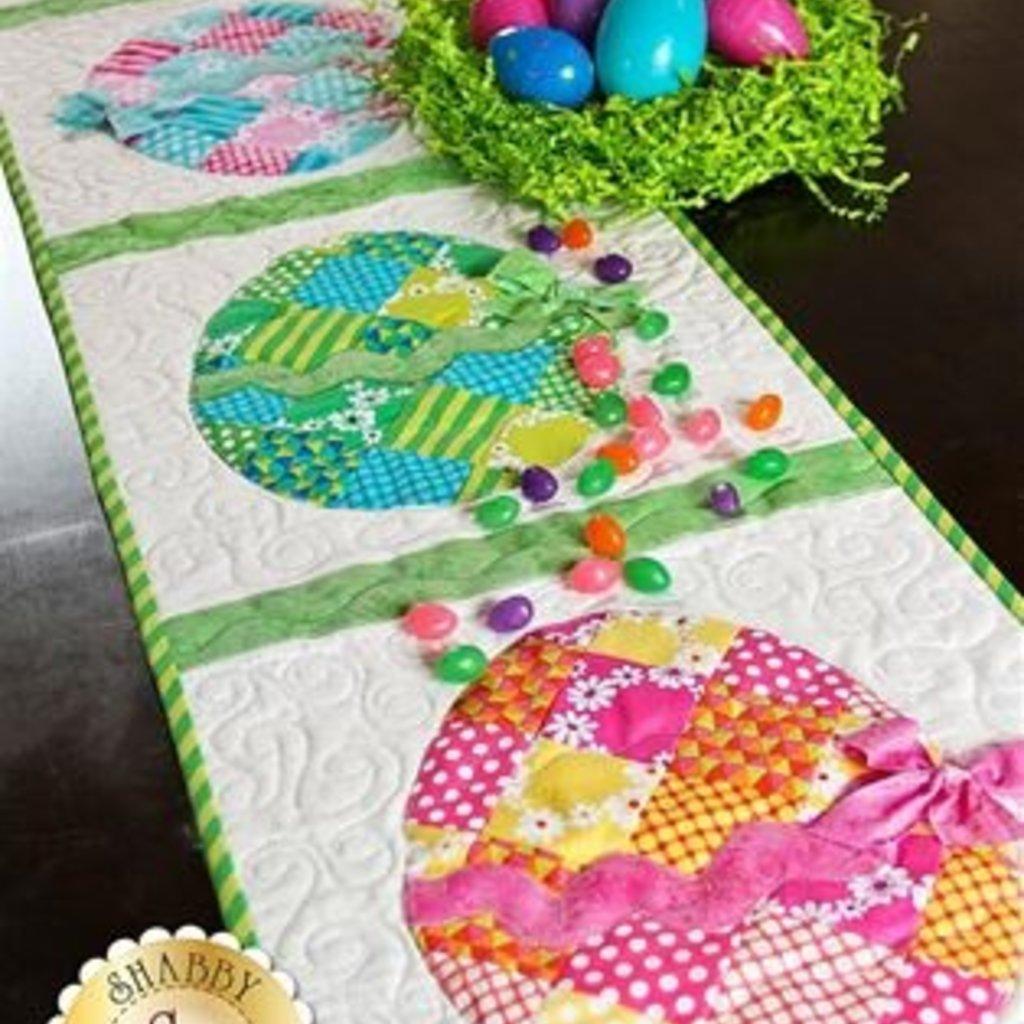 Patchwork Easter Egg Table Runner Kit