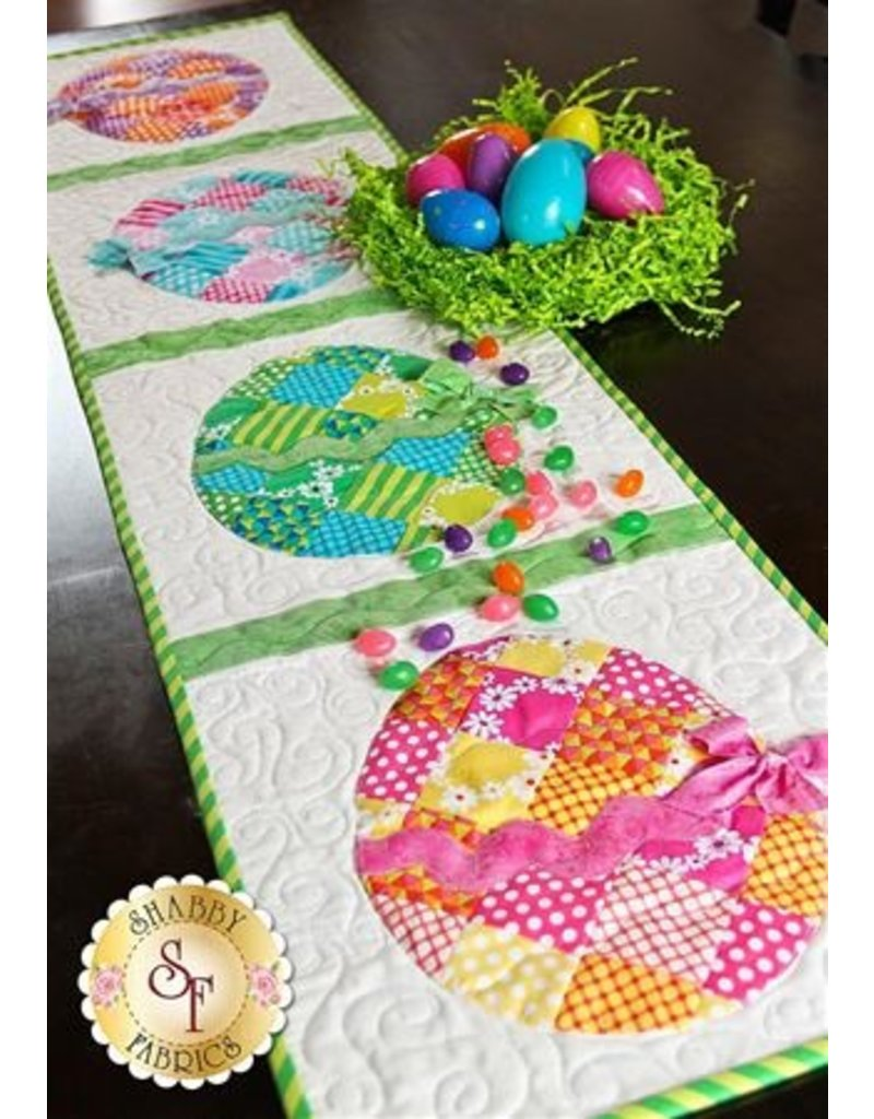 Patchwork Easter Egg Table Runner Kit