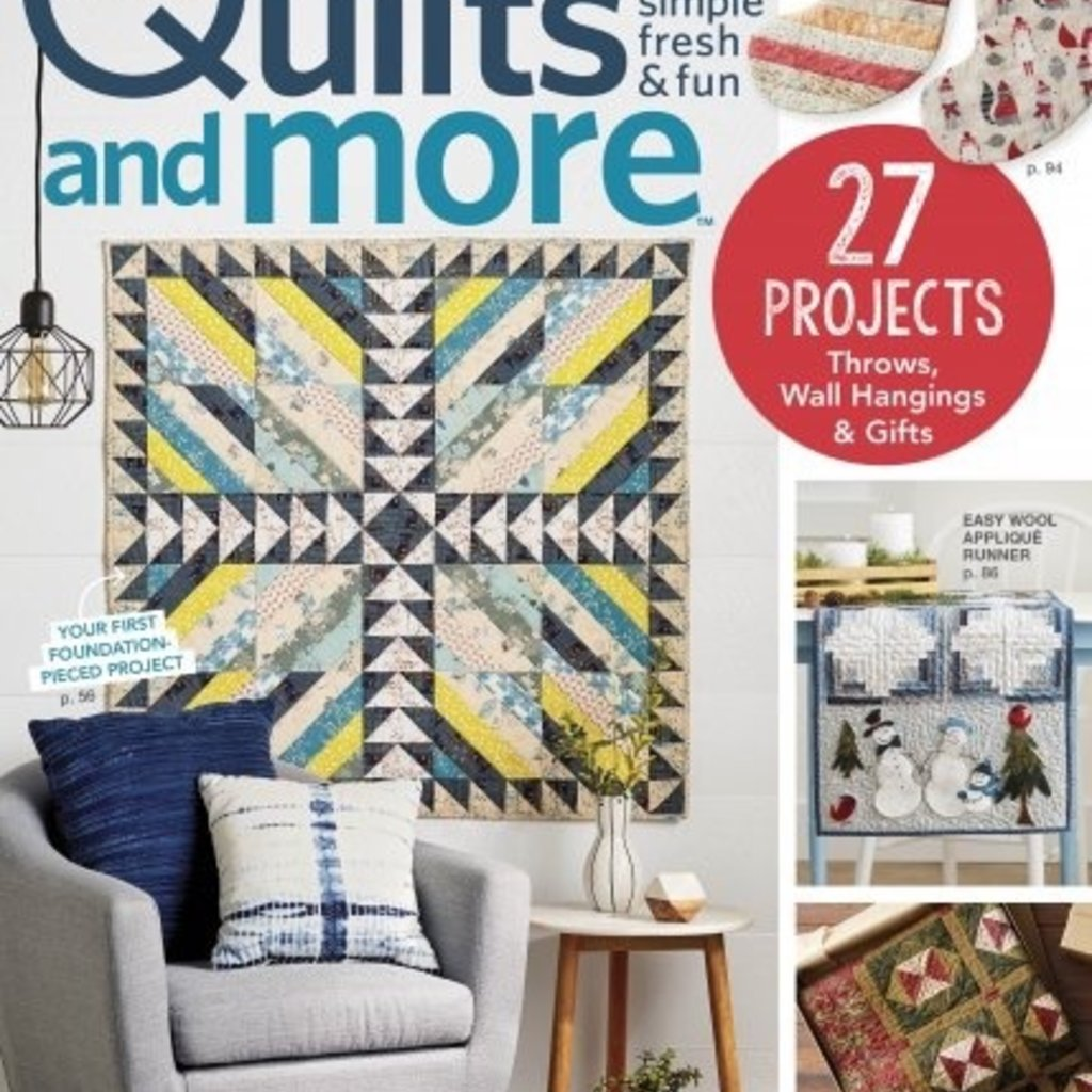 Quilts and More Winter 2018