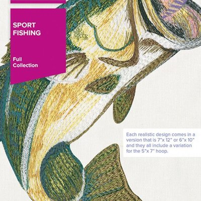 Sport Fishing design pack