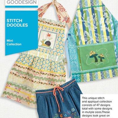 Stitch Doodles Design Pack