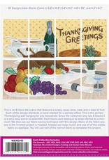 Thanksgiving Greetings Tile Scene