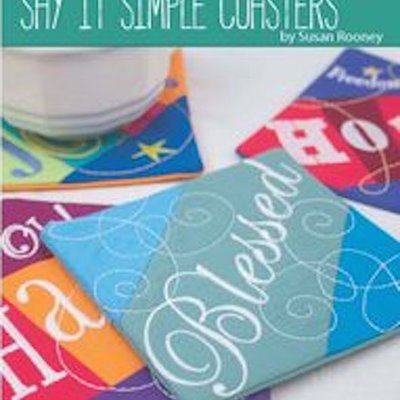 OESD Say It Simple Coasters CD