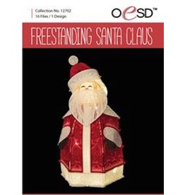 OESD Freestanding Santa Claus