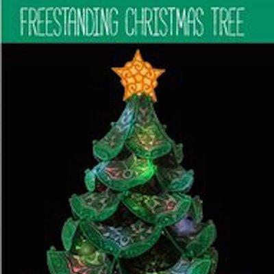 OESD Freestanding Christmas Tree