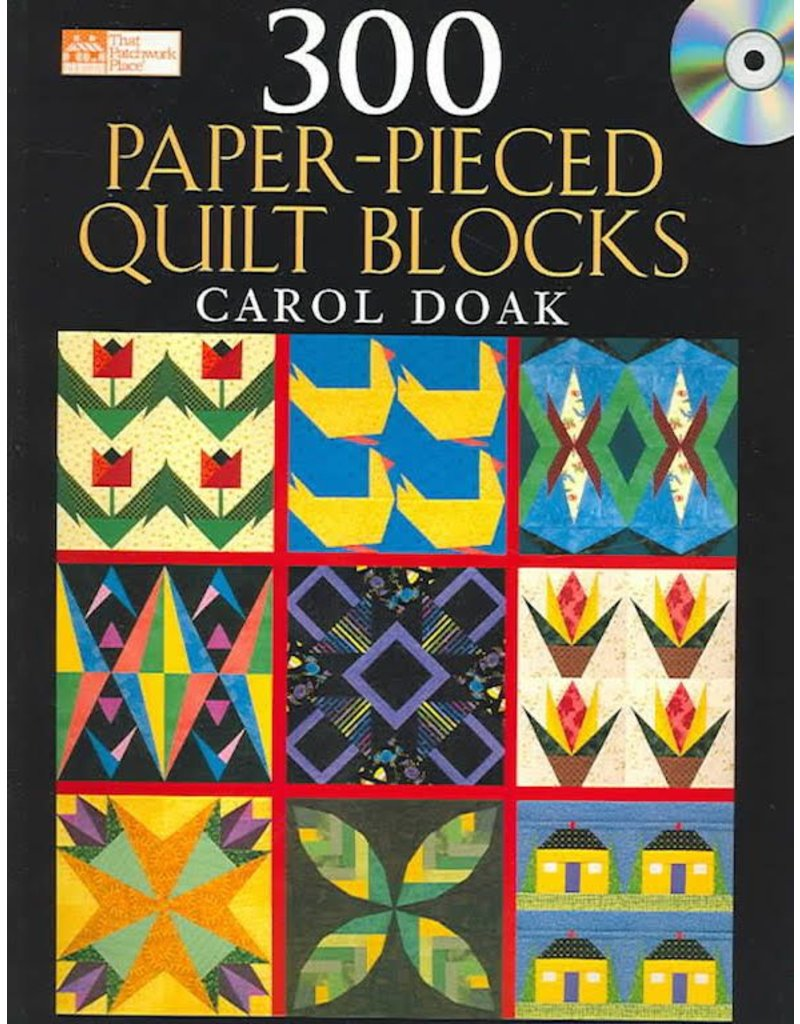 300 Paper-Pieced Blocks
