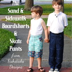 The Sand and Sidewalk Boardshorts and Skate Pants