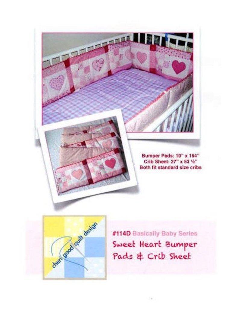 Sweet Heart Bumper Pads & Crib Sheet