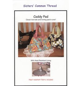 Caddy Pad with heat resistant fabric pattern plus