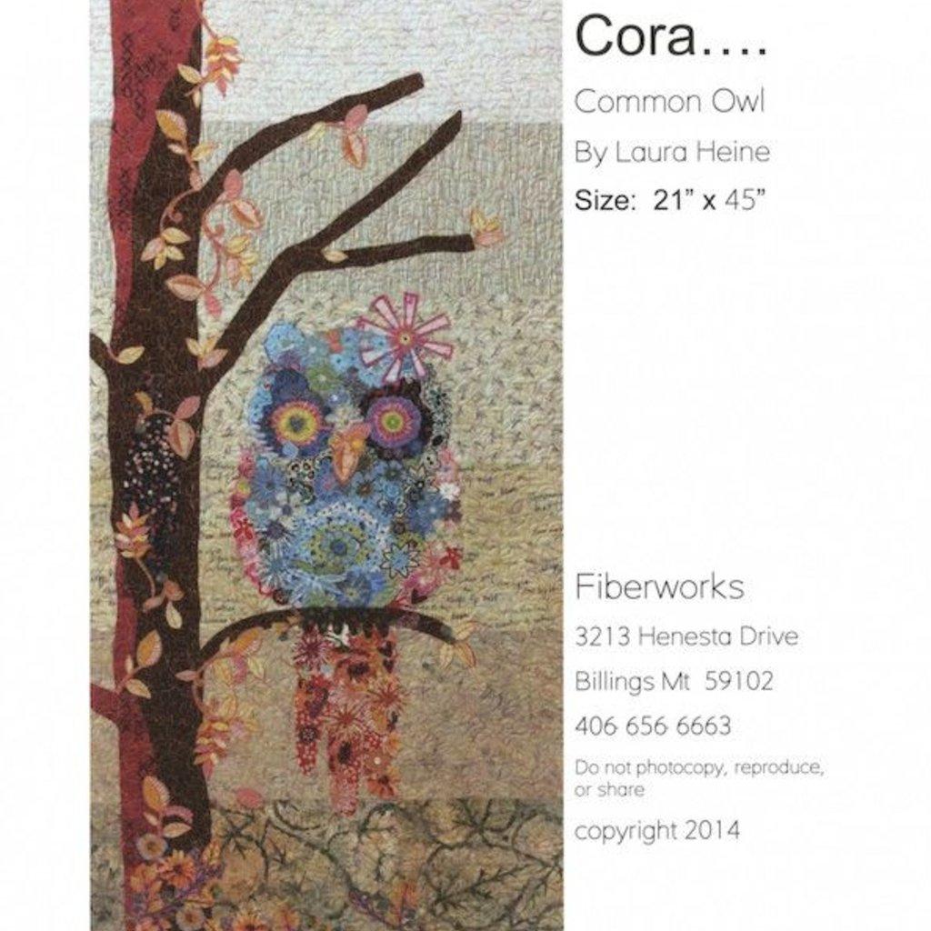 Cora The Common Owl Collage
