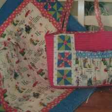 Pinwheel Fun for Baby Bag & Quilt - Pattern