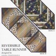 Reversible Tablerunner By Karen Montgomery