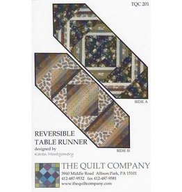 Reversible Tablerunner By Karen Montgomery