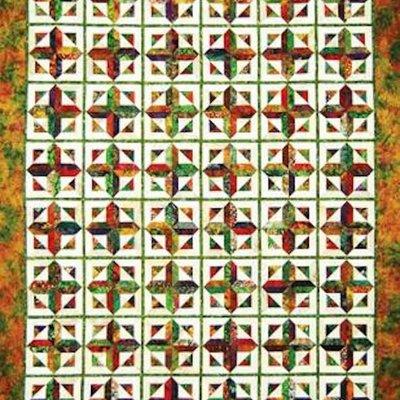 Autumn Cross Pattern
