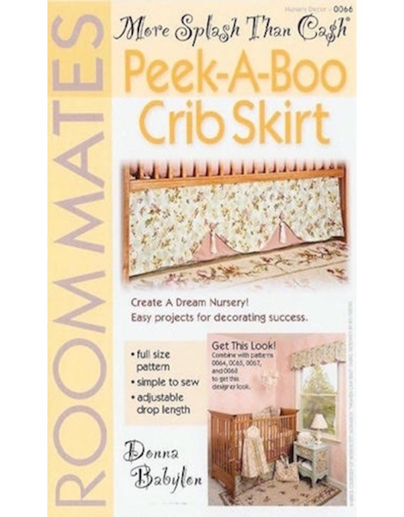 Peek-A-Boo Crib Skirt