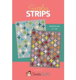 Surplus Strips Quilt Pattern