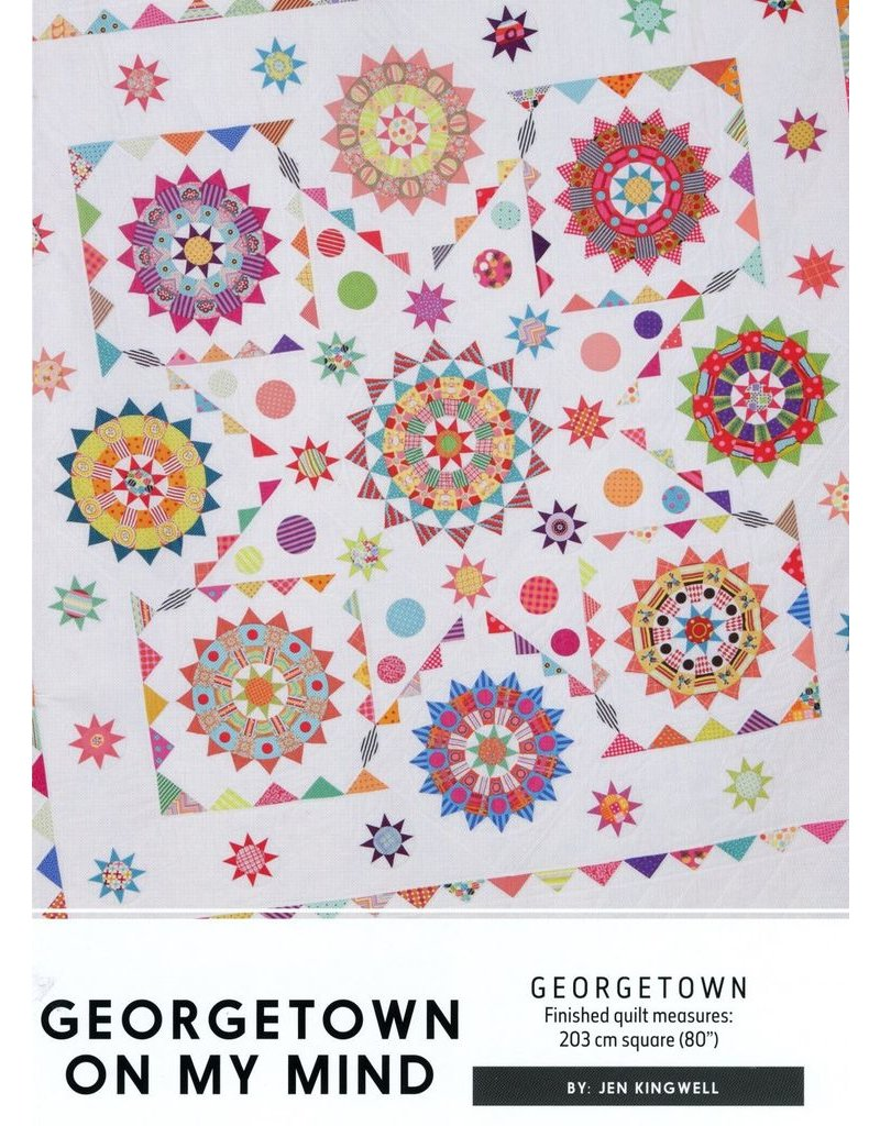 Georgetown On My Mind Kit-Includes fabric for quilt top.