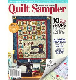 Quilt Sampler Fall/Winter 2018