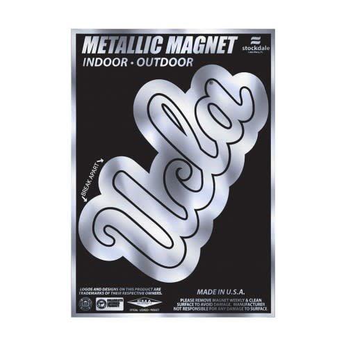 UCLA Script METALLIC MAGNETS 6