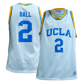 best sneakers f6899 853d0 UCLA Basketball White Jersey #2 Ball