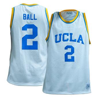 best sneakers 588e1 4b8bf UCLA Basketball White Jersey #2 Ball