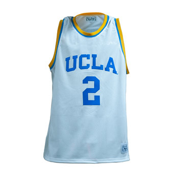 best sneakers 92686 afd33 UCLA Basketball White Jersey #2 Ball