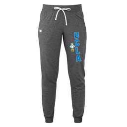 Russell Athletic UCLA Retro Bear Standing Jogger Black Heather