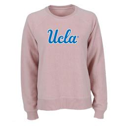 Boxercraft UCLA Script Fleece Out Crew Blush