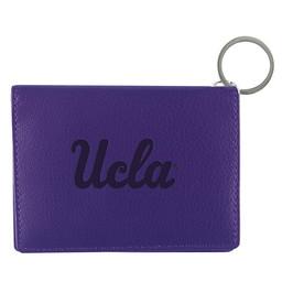 Jardine Associates UCLA script Leather ID Holder Purple