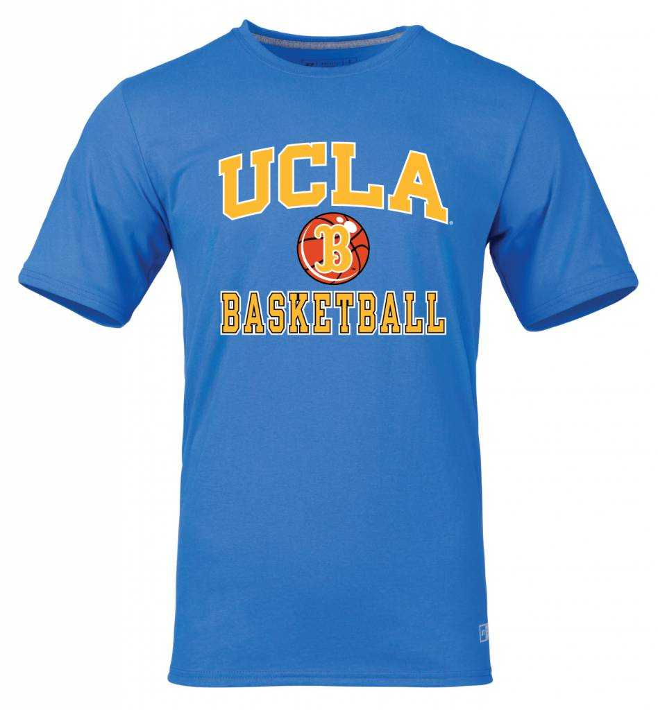 ucla basketball blue shirt giveaways