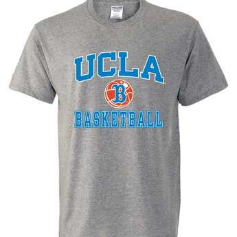 T Ucla Campus Basketball Shirt Store Heather Grey OPkiuXZ