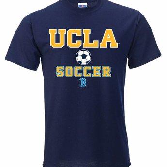 newest a7ce6 5544e UCLA Soccer Jerzees 50/50 Tee