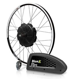 "Bionx BionX, P350 DX, Electronic Assist System, 27.5"", Black Rim, Disc"