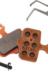 Avid, Elixir, DB, Level, Level T, Level TL Disc brake pads, Sintered metal, Steel back plate, pair