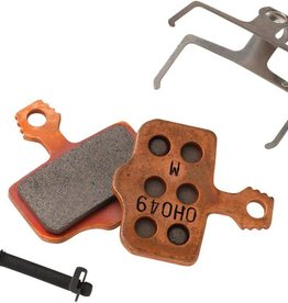 Avid, Elixir, DB, Level, Level T, Level TL Disc brake pads, Sintered metal, Steel back plate, pair