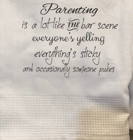 Parenting is Like the Bar Scene Towel