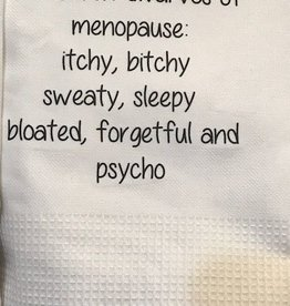 The Seven Dwarves of Menopause Towel