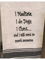 Wild Hare Designs I Meditate Towel