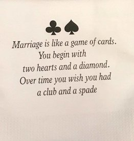Marriage Is Like a Game of Cards