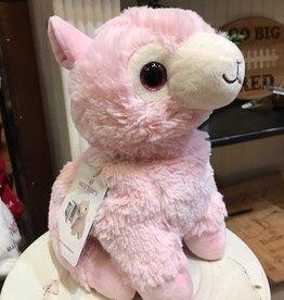 Pink Llama Warmie Plush