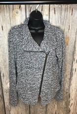 Aymmetrical Zipper Jacket