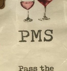 Mudpie PMS Wine Towel