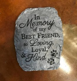 Carson Home Accents Slate Step/Stone-In Memory