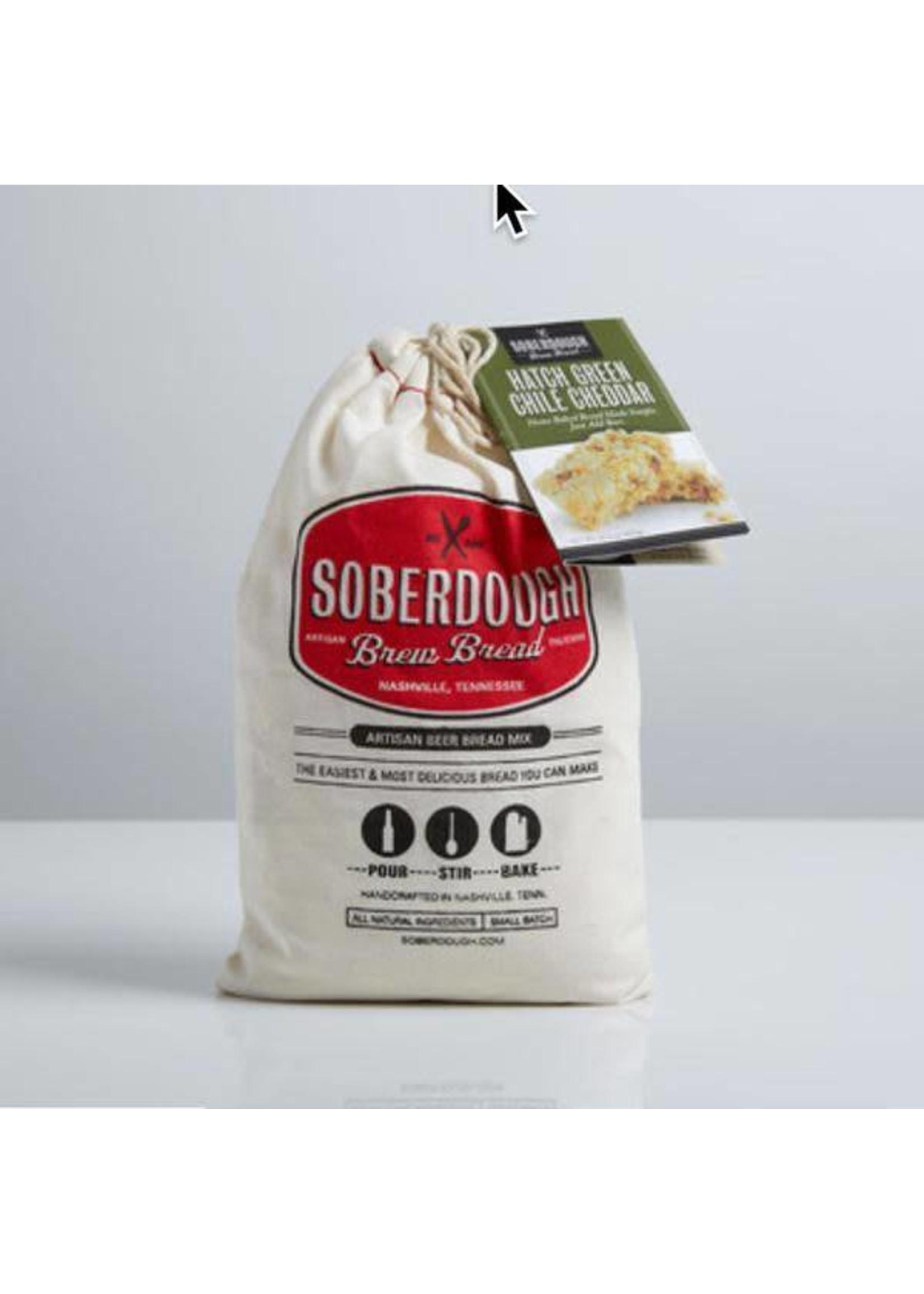 Soberdough Green Chili Cheddar Brew Bread Mix